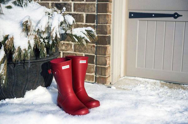 are hunter boots good for snow