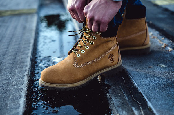 do timberlands get water stains