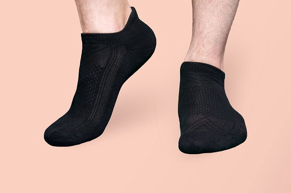 are black socks bad for you